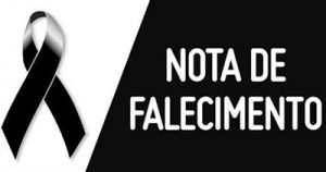 NOTA DE FALECIMENTO DIA 23/12/19