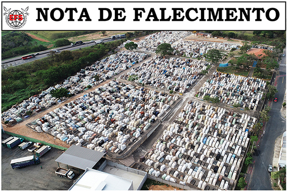 Nota de Falecimento de Letícia Coelho Amaral Lourenço
