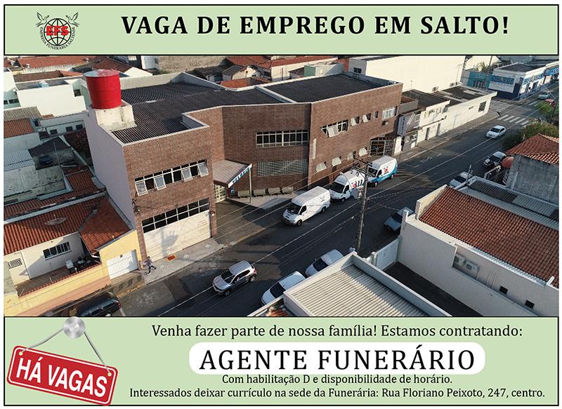 Read more about the article Funerária Saltense abre vaga para agente funerário