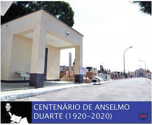 Centenário de Anselmo Duarte: Empresa Funerária Saltense concluiu melhorias em seu túmulo, no Cemitério da Saudade