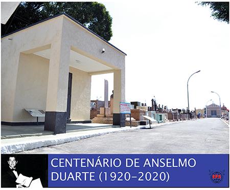 Read more about the article Centenário de Anselmo Duarte: Empresa Funerária Saltense concluiu melhorias em seu túmulo, no Cemitério da Saudade