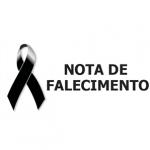 Nota de Falecimento de José Marcelino Moreira