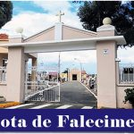 Nota de falecimento de Alcides Caleffo