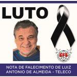 Funerária Saltense informa o falecimento de Luiz Antonio de Almeida, o popular Teleco