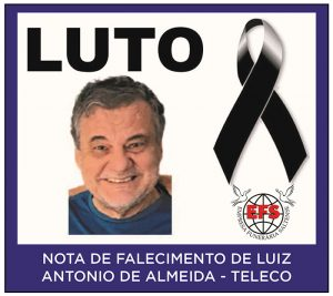 Read more about the article Funerária Saltense informa o falecimento de Luiz Antonio de Almeida, o popular Teleco